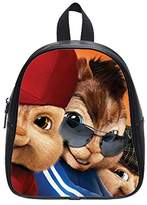 Lucky S Contracted Alvin and the Chipmunks Custom Kids School Backpack(Small) Leisure