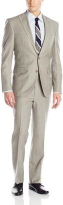 Kenneth Cole New York Men's Slim Fit 2 Button Side Vent Suit