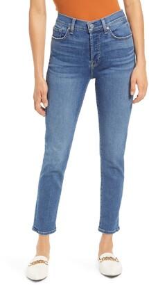 Seven London Josefina Crop Slim Boyfriend Jeans