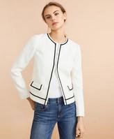 Brooks Brothers Boucle Cropped Jacket