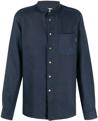 Paul Smith Linen Buttoned Shirt