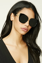 Forever 21 FOREVER 21+ Mirrored Eye Sunglasses