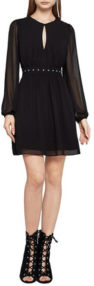 BCBGeneration A-Line Chiffon Dress