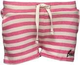 Bench Girls Striped Shorts Pink