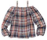 Ralph Lauren Toddler's, Little Girl's & Girl's Plaid Off-The-Shoulder Top