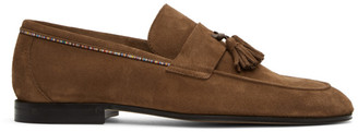 Paul Smith Brown Suede Hilton Loafers