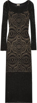 Temperley London Raya open-knit maxi dress
