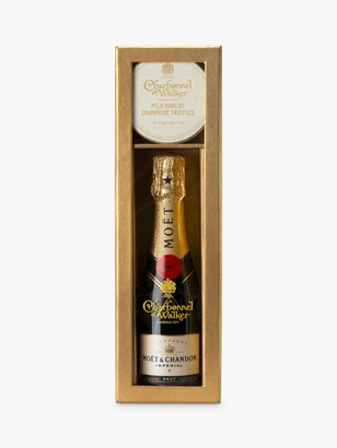 Charbonnel et Walker Moet & Truffles Gift Box, Gold