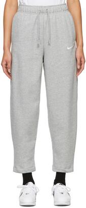 Nike Grey Fleece Sportswear Essential Lounge Pants
