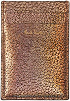 Paul Smith Gold Credit Card Holder