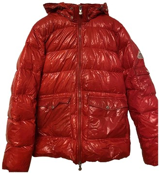 Pyrenex Red Polyester Coats