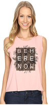 Life is Good Be Here Now Muscle Tee