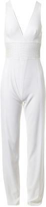 La Perla White Silk Jumpsuit for Women