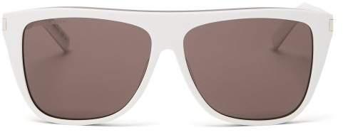 ea155e956d28 White Frame Glasses - ShopStyle