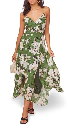ASTR the Label Lyric Floral Maxi Dress