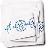 Hamburg House 3-Pc Tropez Towel Set, Turquoise