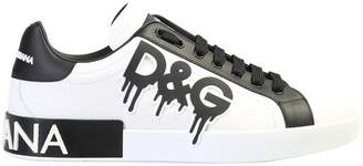 Dolce & Gabbana Miami Suede Leather Sneakers