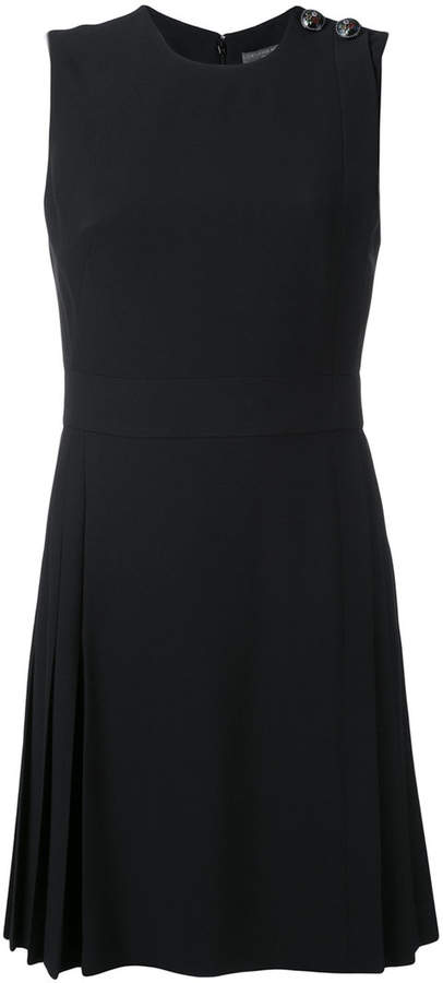 Alexander McQueen pleated mini dress