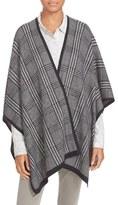 Soft Joie 'Stacee' Plaid Knit Poncho Wrap