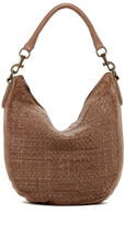 Liebeskind Berlin Robin Leather Woven Hobo