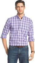 Izod Men's Advantage Poplin Button-Down Shirt