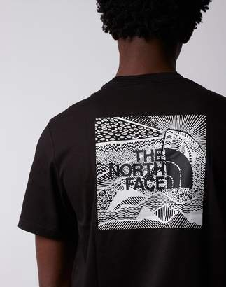 The North Face Short Sleeve Redbox Celebration T-Shirt Black