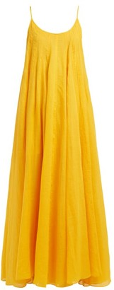 Three Graces London Mabelle Trapeze Maxi Dress - Yellow