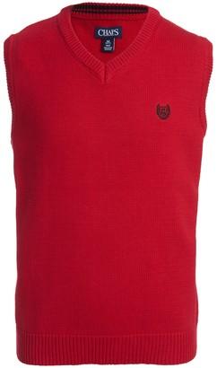 Chaps Boys 4-20 Fairisle Sweater Vest