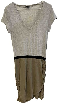 Theory Grey Cotton Dress for Women