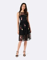 Forever New Renny Embroidered Dress