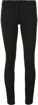 Veronica Beard Zip Up Skinny Trousers