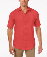 Club Room Men's Garment-Dyed Linen Shirt, Created for Macy's
