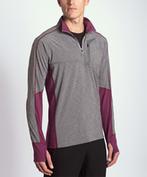 MPG Heather Charcoal Contra Pullover