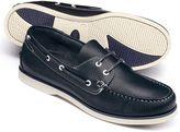 Charles Tyrwhitt Navy Fowey boat shoes