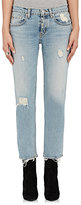 ADAPTATION Women's Distressed Crop Skinny Jeans