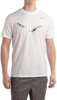 Pony Fashion Print T-Shirt - Crew Neck, Short Sleeve (For Men)