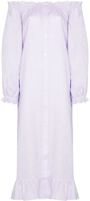 Sleeper Off-The-Shoulder Nightgown