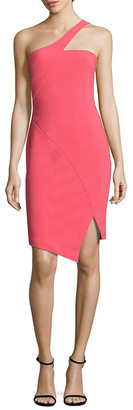 LIKELY Cerise One-Shoulder Dress