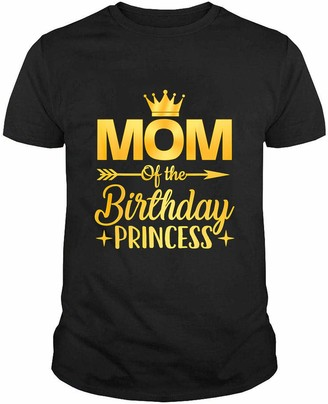 Generic Mom of The Birthday Princess Father Mother Gifts T Shirt Hoodie Swearshirt