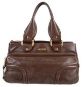 Marc Jacobs Brown Leather Tote