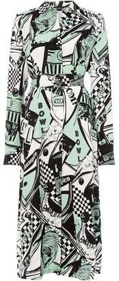 Sportmax Code Bessica long sleeve shirt dress