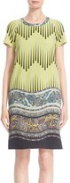 Etro Print Wool Cady Tunic Dress