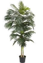 Asstd National Brand Nearly Natural 8-ft. Golden Cane Palm Silk Tree