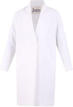 Herno Single Breasted Midi Coat