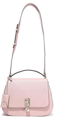 Valentino Pebbled-leather Shoulder Bag