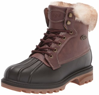 Lugz Women's Mallard Fur Classic 6-inch Duck Toe Memory Foam Chukka Fashion Boot Combat