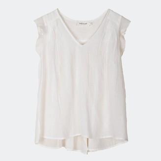 Indi & Cold - Camisa White Top - L