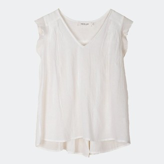 Indi & Cold - Camisa White Top - M
