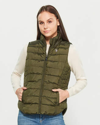 U.S. Polo Assn. Basic Quilted Vest