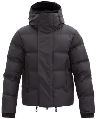 DSQUARED2 Funnel-neck Quilted-shell Jacket - Black